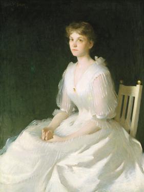 Portrait in White, 1889 by Frank Weston Benson