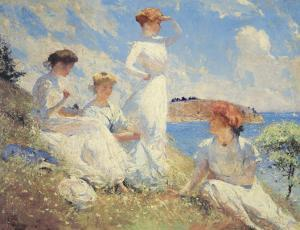 Summer by Frank Weston Benson