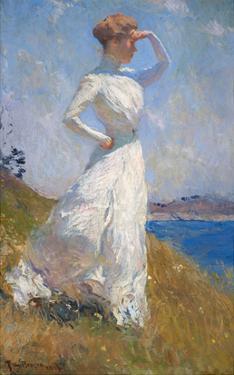 Sunlight, 1909 by Frank Weston Benson