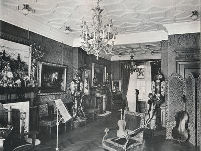 'The Music-Room, Captain Harvey's House, Hampstead', c1903