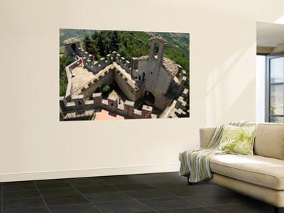 Castello Della Guaita at the Top of San Marino
