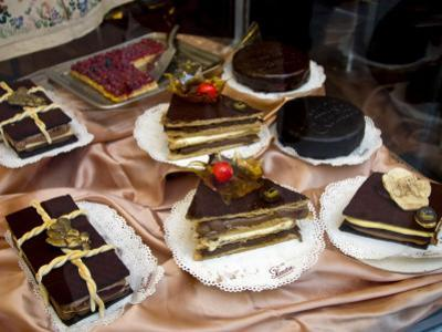 Special Pastries at Sandri, Passeggiata, Corso Vannucci