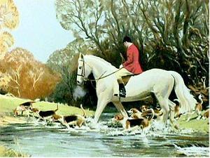 Huntsman Crossing Stream by Frank Wootton