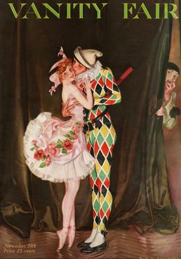 Vanity Fair Cover - November 1914 by Frank X. Leyendecker