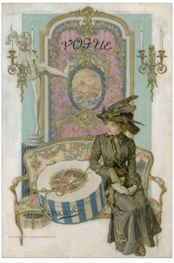 Vogue - April 1911 by Frank X. Leyendecker