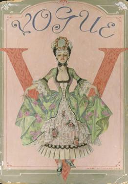 Vogue - March 1911 by Frank X. Leyendecker