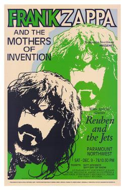 Frank Zappa Paramount Northwest, c.1972