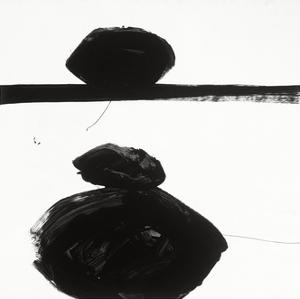 Black and White J by Franka Palek