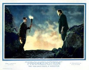 Frankenstein, Colin Clive, Boris Karloff, 1931