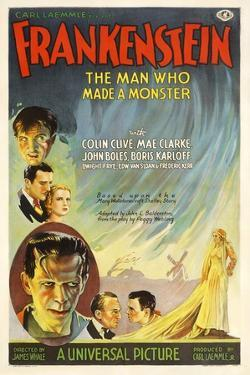 Frankenstein, Directed by James Whale, 1931