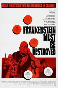 Frankenstein Must Be Destroyed, Freddie Jones, Peter Cushing, 1969