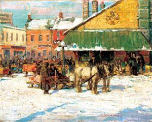Byward Market, Ottawa by Franklin Brownell
