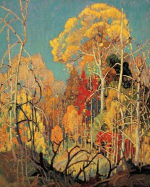 Autumn in Orillia by Franklin Carmichael