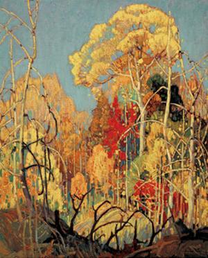 Autumn Orillia by Franklin Carmichael