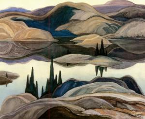 Mirror Lake by Franklin Carmichael