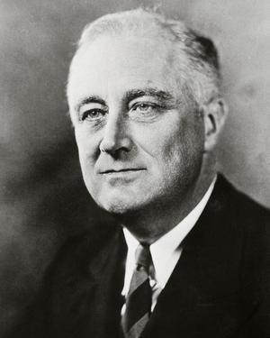 Franklin D. Roosevelt, 32nd President of the United States