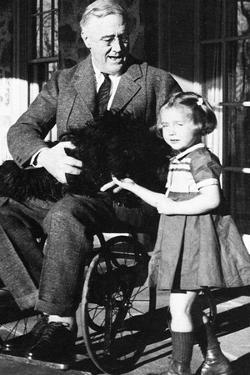 Franklin Delanor Roosevelt (In Wheelchair)
