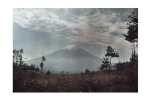 A Distant View of Mount Fuji by Franklin Price Knott