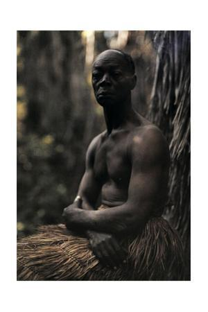 A Portrait of a Man of the Zulu Tribe