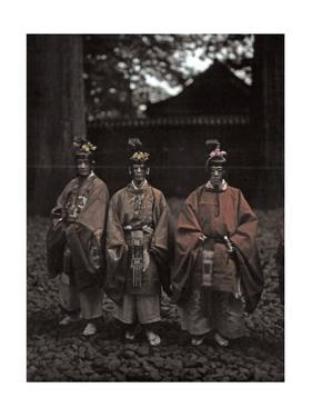 A View of Priests at the Temple of the Summer Palace of the Emperor by Franklin Price Knott