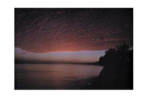 A View of the Clouds over the California Coast by Franklin Price Knott