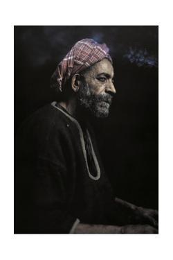 An Informal Portrait of a Tunisian Man by Franklin Price Knott
