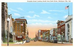 Franklin Street, Michigan City, Indiana