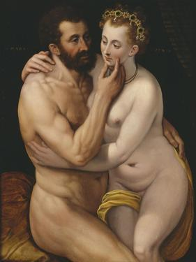 Mars and Venus by Frans Floris the Elder
