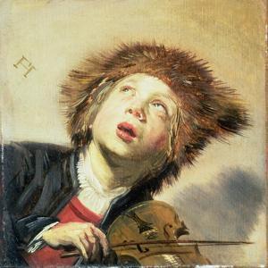 A Boy with a Viol by Frans Hals