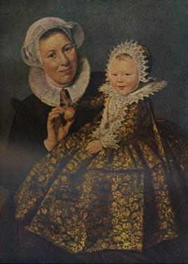 'Catharina Hooft With Her Nurse', 1619-1620 (c1927) by Frans Hals