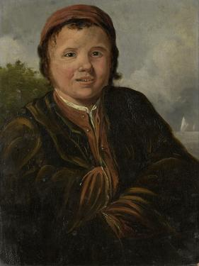 Fisher Boy, at Half Length, Hands Inserted into the Jacket by Frans Hals