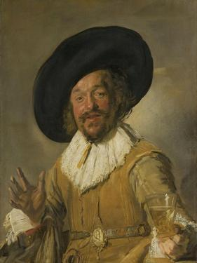 Merry Drinker by Frans Hals