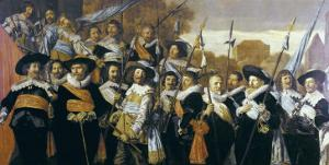 Officers and Sergeants of the St George Civic Guard Company by Frans Hals