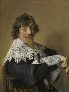 Portrait of a Man, Frans Hals by Frans Hals
