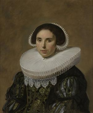 Portrait of a Woman, 1635 by Frans Hals