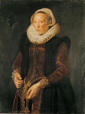 Portrait of a Woman, C.1611 by Frans Hals
