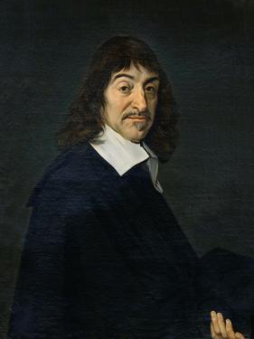 Portrait of Rene Descartes (1596-1650) c.1649 by Frans Hals