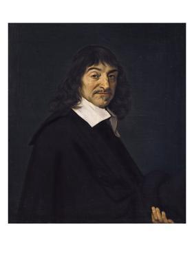 Portrait of René Descartes by Frans Hals