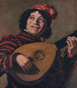 'The Lute Player', 1623 by Frans Hals
