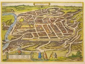 Vilnius (From Urbium Praecipuarum Mundi Theatrum Quintum by Georg Brau), 1580s by Frans Hogenberg