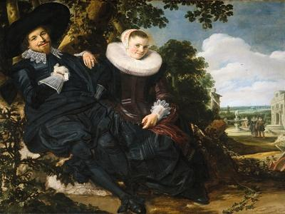 Marriage Portrait of Isaac Abrahamsz Massa and Beatrix Van Der Laen, 1622