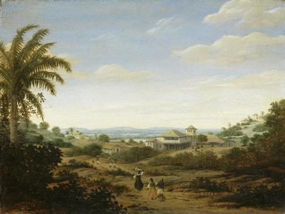 Brazilian Landscape by the River Senhor De Engenho