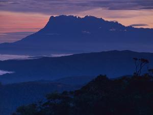 Mount Kinabalu at Dawn, Sabah, Borneo by Frans Lanting