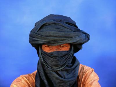 Portrait of Man of the Tuareg Tribe by Frans Lemmens