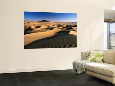 Sand Dunes of Ilekane in Tenere Part of Sahara Desert Near Agadez by Frans Lemmens