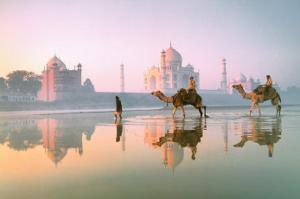 Taj Mahal, India by Frans Lemmens