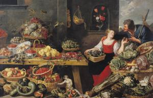 Fruit and Vegetable Market by Frans Snyders
