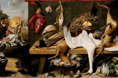 Market Scene on a Quay, c.1635-1640 by Frans Snyders
