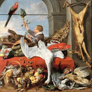 Interior of an Office, or Still Life with Game, Poultry and Fruit, c.1635 by Frans Snyders Or Snijders