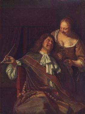 A Man and a Woman, 1907 by Frans Van Mieris